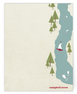 Fish Tales & Campfires Children's Personalized Stationery