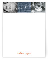Dog's Life Children's Personalized Stationery