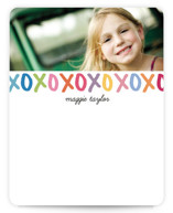 Hugs and Kisses Children&#039;s Personalized Stationery