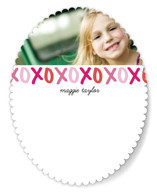 Hugs and Kisses Children's Personalized Stationery