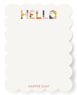 Block Letters Children's Personalized Stationery