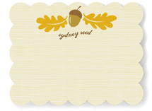 Little Nut Children's Personalized Stationery