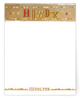 Howdy, Partner Children&#039;s Personalized Stationery