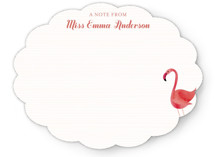 Fancy Flamingo Children&#039;s Personalized Stationery
