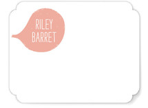 Bubblegum Pop Children's Personalized Stationery