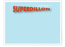 superhero Children&#039;s Personalized Stationery