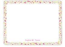 Fresh Garden Children&#039;s Personalized Stationery