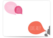 Blowing Bubbles Children&#039;s Personalized Stationery