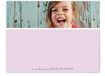 Close-Up Children's Personalized Stationery