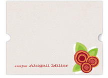 Floral Bounty Children&#039;s Personalized Stationery