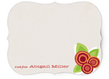 Floral Bounty Children's Personalized Stationery