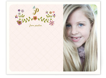 Joli Monogram Children's Personalized Stationery