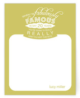 almost famous Children&#039;s Personalized Stationery