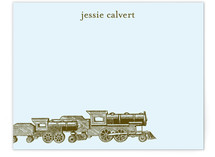 Antique Train Children's Personalized Stationery