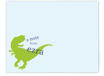 T-Rex Children&#039;s Personalized Stationery