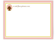 princess Children's Personalized Stationery