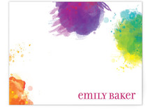 Artist Palette Children's Personalized Stationery