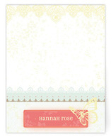 Handkerchief Children&#039;s Personalized Stationery