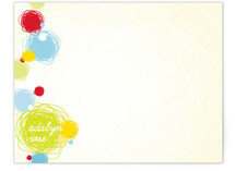 sketchy Children's Personalized Stationery