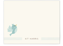 A Tweet Note Children's Personalized Stationery