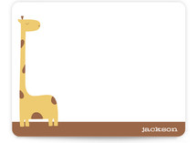 jack the giraffe Children&#039;s Personalized Stationery