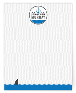 Beware of the Shark Children's Personalized Stationery