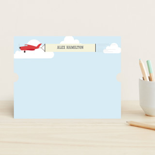 In the Clouds Children's Personalized Stationery