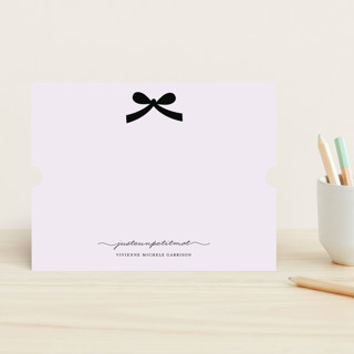 french ribbon Personalized Stationery bridal shower bridesmaids gift