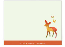 Deer You Children's Personalized Stationery