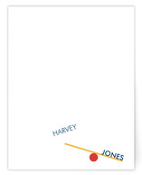 Off Balance Children's Personalized Stationery