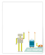Robot Friends! Children&#039;s Personalized Stationery