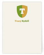 lil' rugby Children's Personalized Stationery