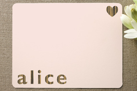 Alice Children's Personalized Stationery