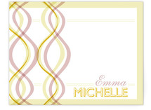 two braids Children's Personalized Stationery