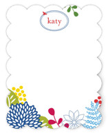 spring blossom Children&#039;s Personalized Stationery