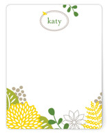 spring blossom Children's Personalized Stationery