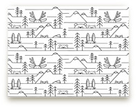 Into the Woods Kids Wall Murals