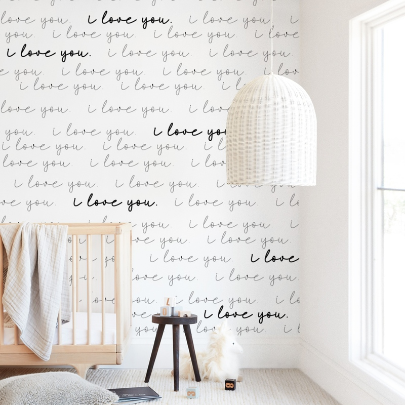 Infinite Love Wall Mural
