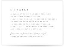 Lynne Letterpress Directions Cards