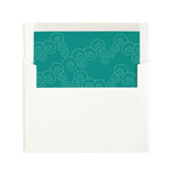BLOCK PRINT WAVES Slip-In Envelope Liners