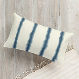Hand-dyed Shibori Strip... by Flora Poste Studio