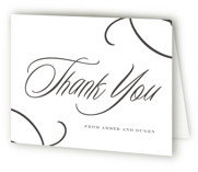 Tied the Knot Letterpress Thank You Cards