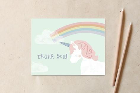 believe in unicorns Non-Custom A2 Cards