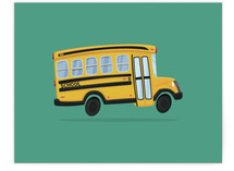 Kids School Bus by Nathan Poland