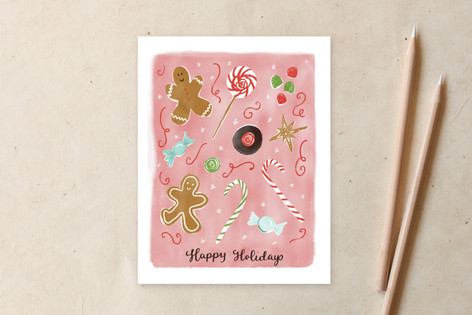 Christmas Sweets & Candies 2 Non-Custom A2 Cards