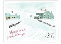 Snowy Scene 6 by Megan Kelso