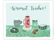 Warm Wishes & Drinks 2 by Megan Kelso