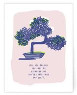 Bonsai Love Note by Ariel Rutland