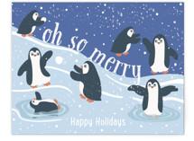 Merry Penguins by Jennifer Holbrook