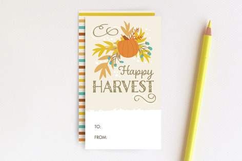 Happy Harvest Mini Cards